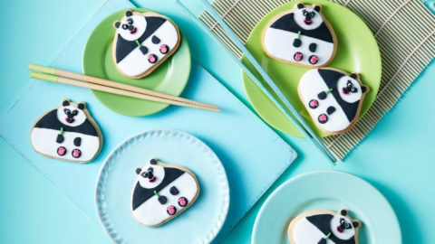 Chew Chew the Panda Biscuits