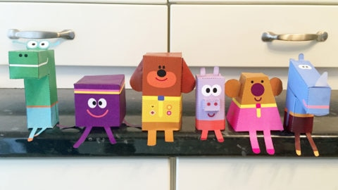 Origami Paper Duggee and Squirrels