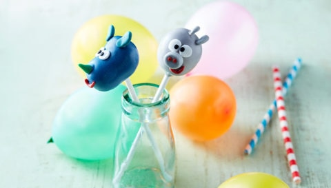 Roly and Tag Cake Pops