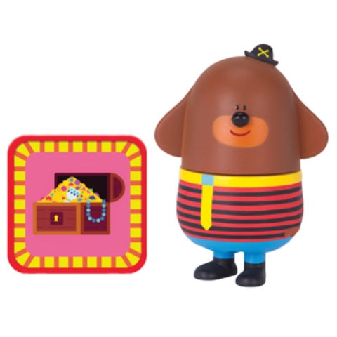 Duggee with Treasure Hunt Badge