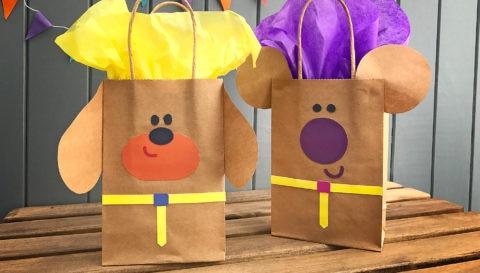Hey Duggee Birthday Bags