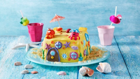 The Sandcastle Cake