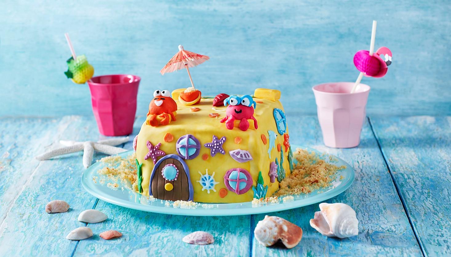The Sandcastle Cake Hey Duggee
