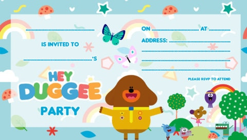 Tips for planning a Hey Duggee party