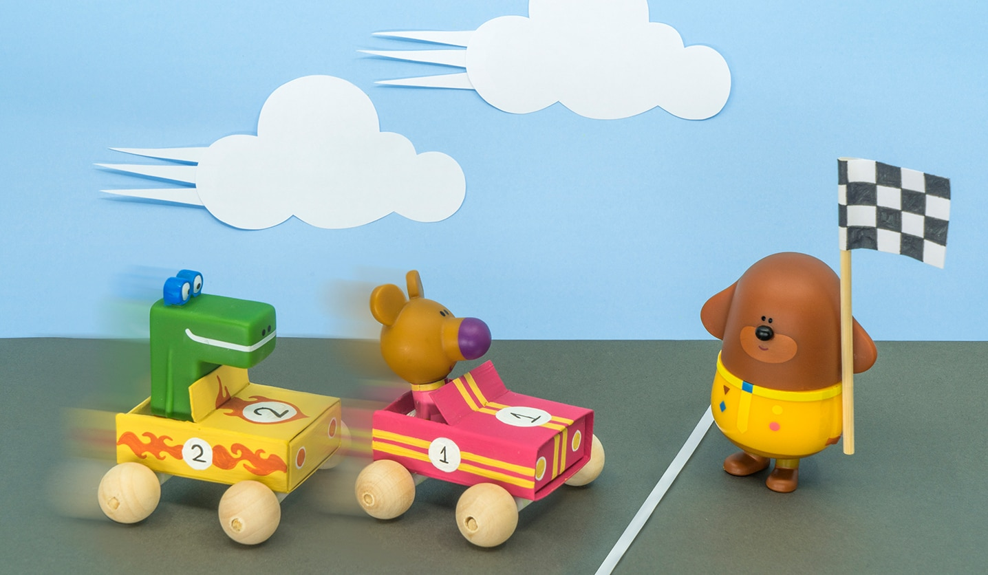 Hey Duggee - Matchbox Race car