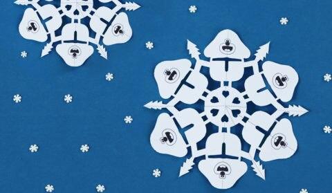 Duggee Snowflake