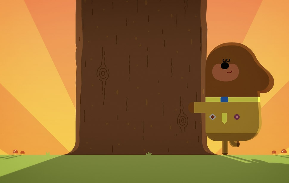 Forest walk activities with Duggee