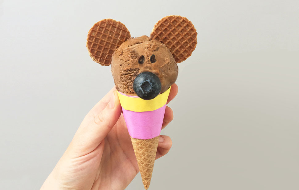 Make a Norrie ice-cream cone