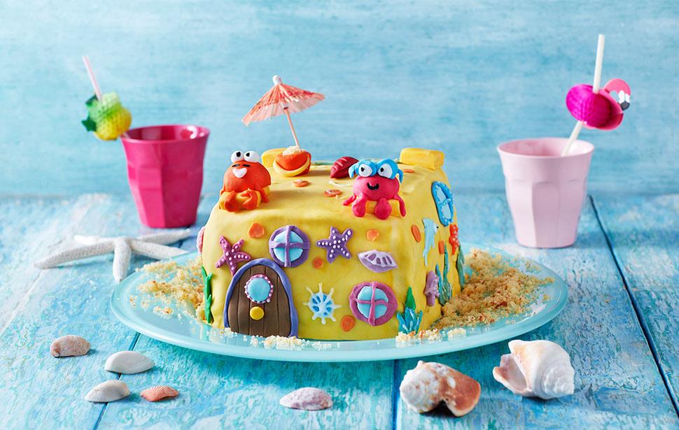 The Sandcastle Cake