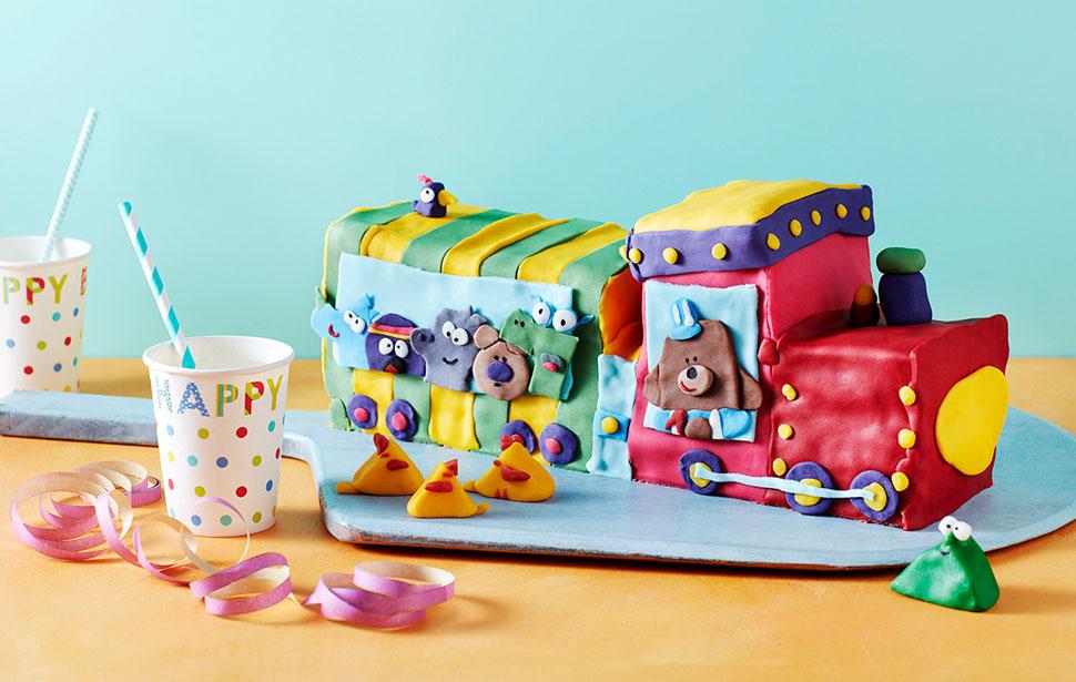 Train Celebration Cake