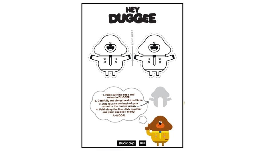 Duggee - finger puppet