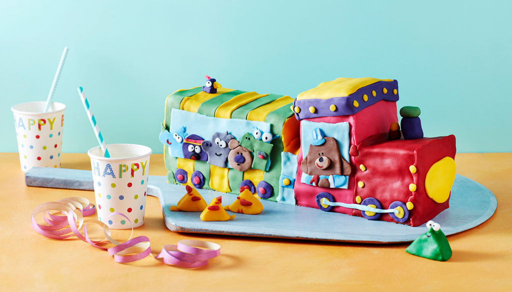 Duggee train celebration cake.