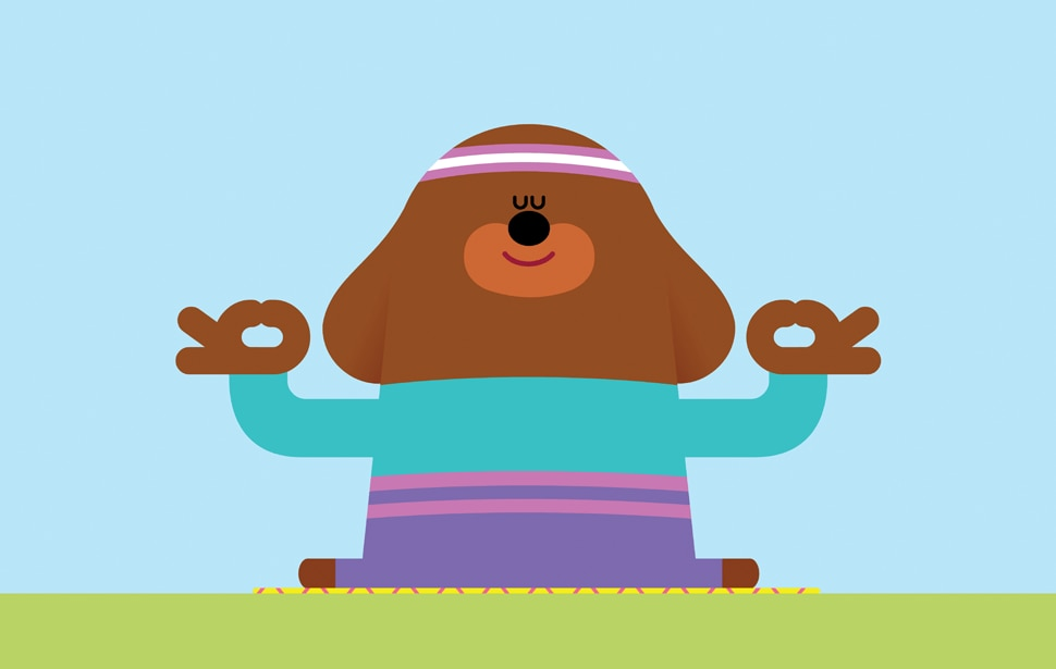 The benefits of yoga for little ones