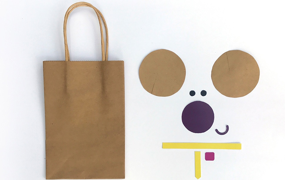Hey Duggee Gift Bags - Norrie Template