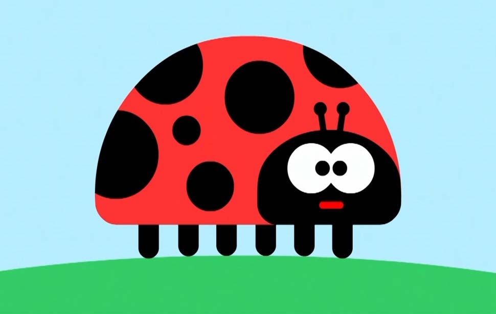 Hey Duggee Ladybird Show and Tell Badge