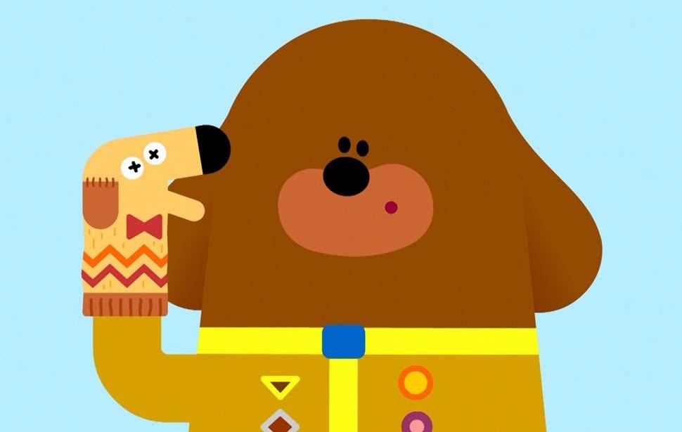 Hey Duggee Maze Badge Hand Puppet