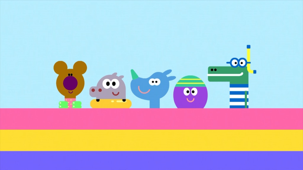 Hey Duggee: The Squirrels relax in the Paddling Pool Badge episode!