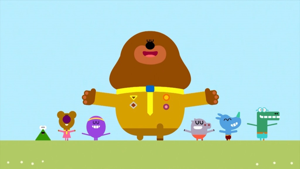 Hey Duggee: Duggee and the Squirrels perform the Raindance to get their badge!