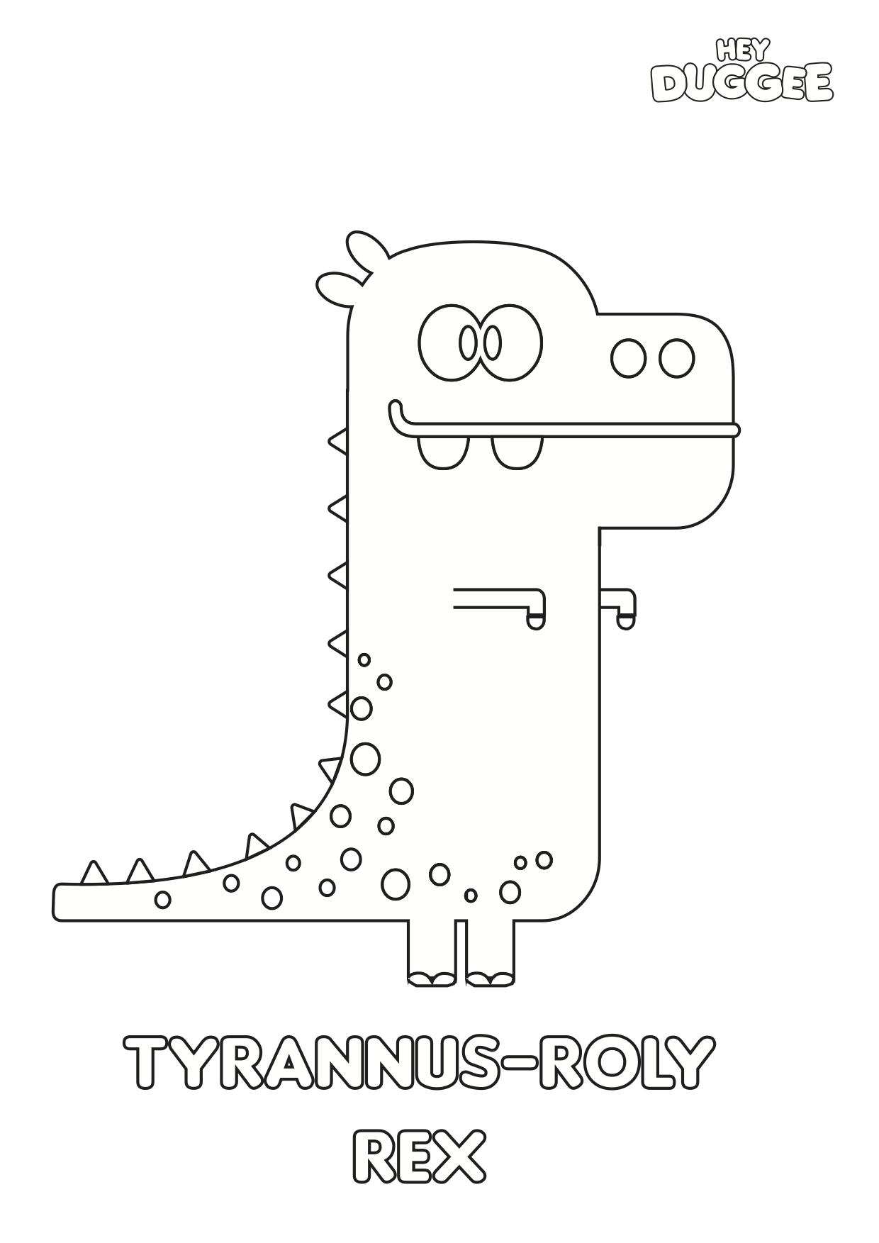 Tyrannus-roly rex