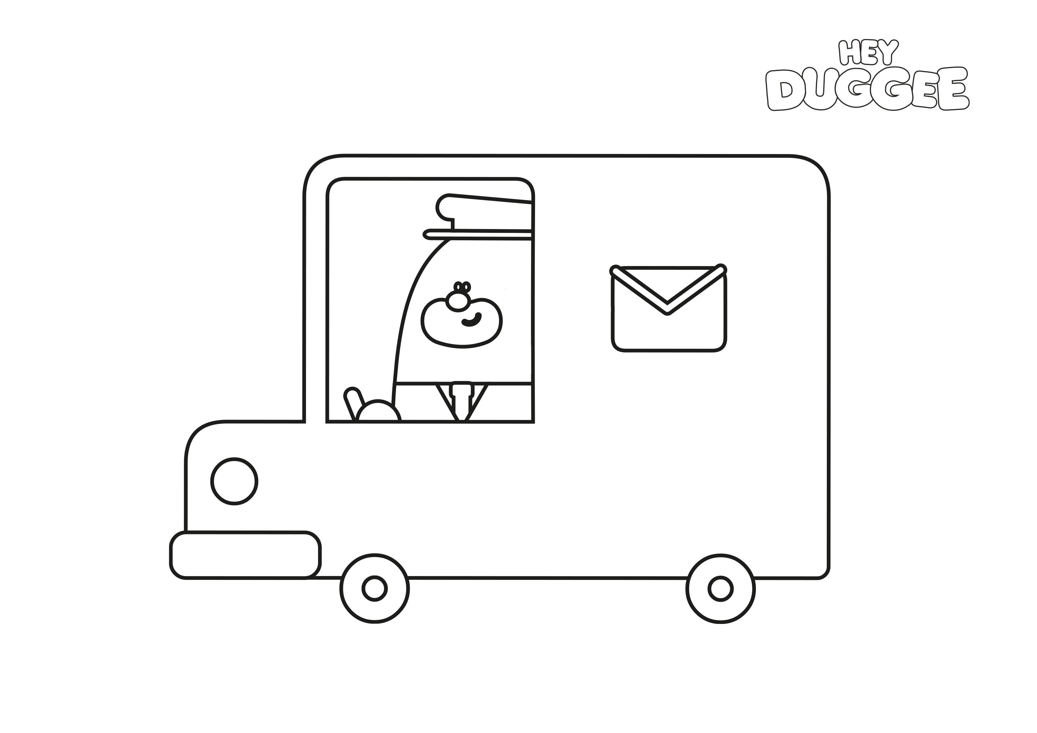 Postman Van