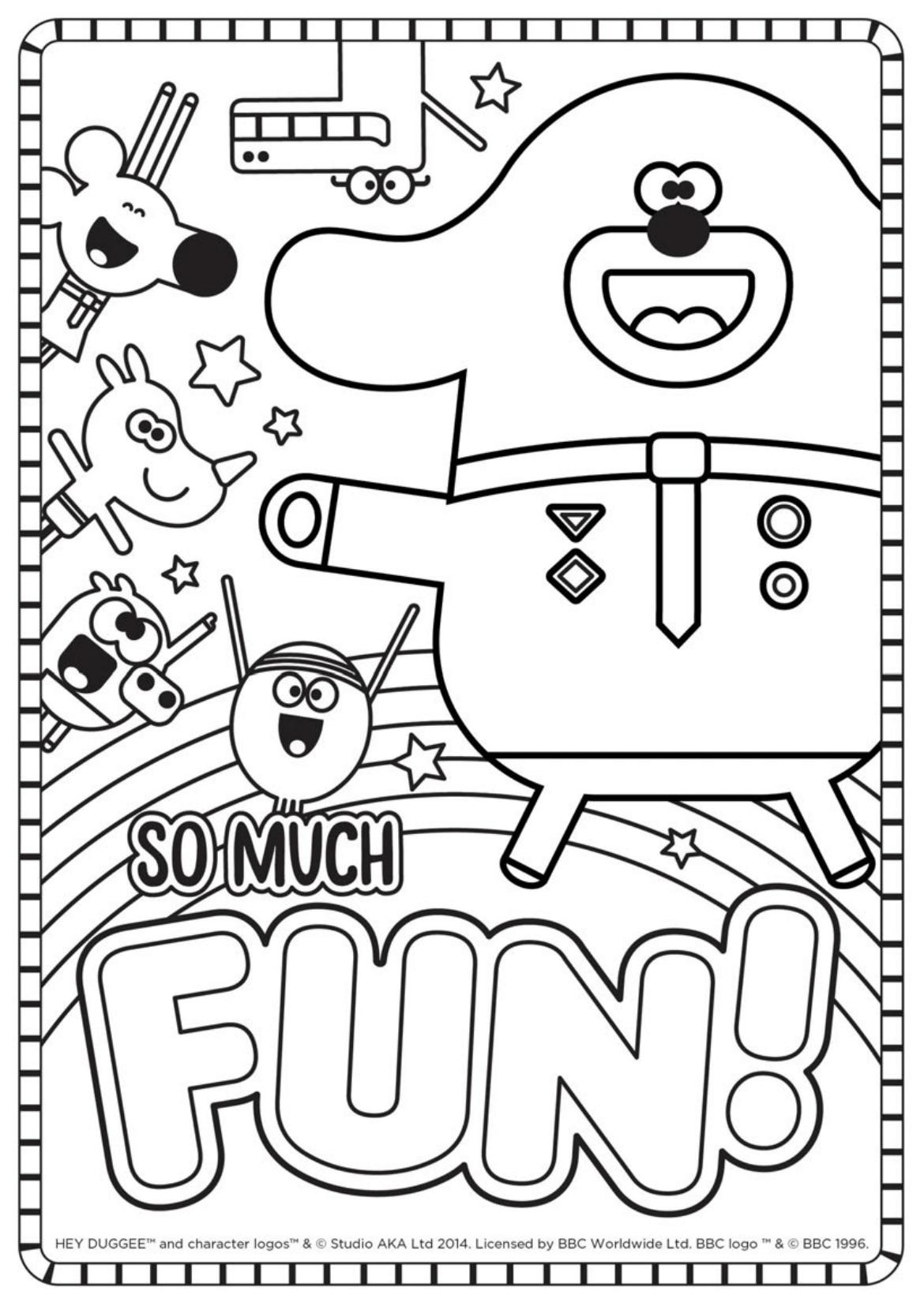 Fun Colouring Sheet